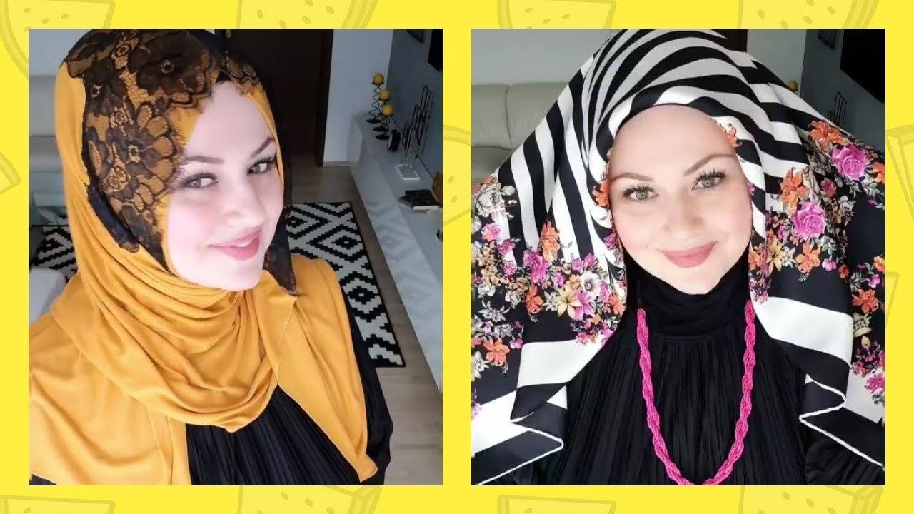 [VIDEO] – اجدد لفات حجاب لهذا الأسبوع لازم كل بنت تشفها – Turkish Hijab