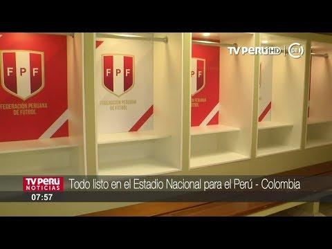 Estadio Nacional en óptimas condiciones para el Perú vs. Colombia