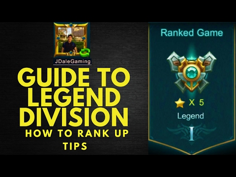 Mobile Legends - How to Rank Up to Legend Tips and Tricks