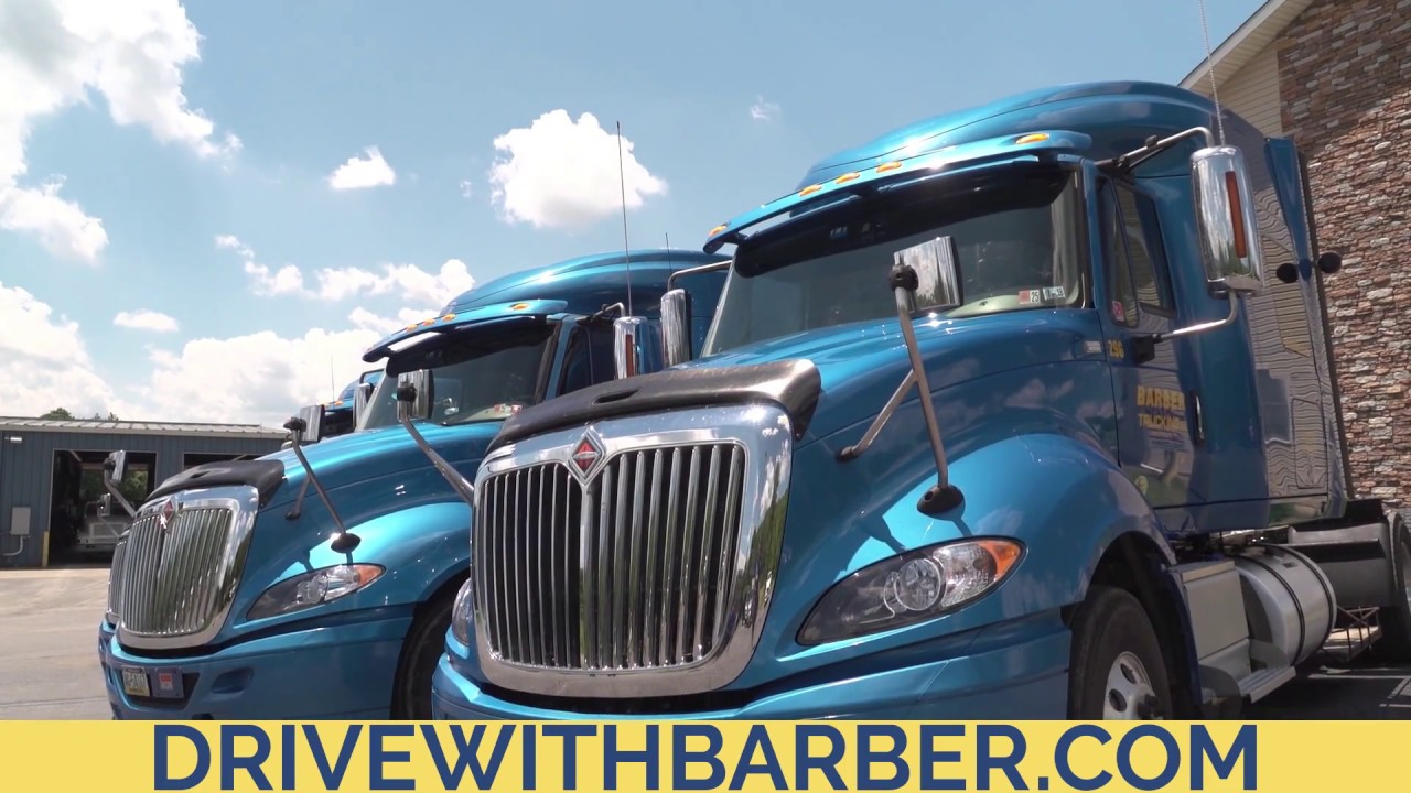 Barber Trucking - Drive with Team Barber