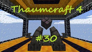 A Complete Guide To Thaumcraft 4 - Part 30 - GOLEMS! Straw Golem and Golem Core: Guard