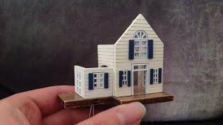 Assembling DIY Miniature Dollhouse Kit: Spring of Flowers / Spring Florid Part 1: House