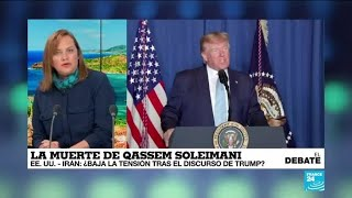 Tensión Estados Unidos-Irán: ¿disminuye tras el discurso de Trump?