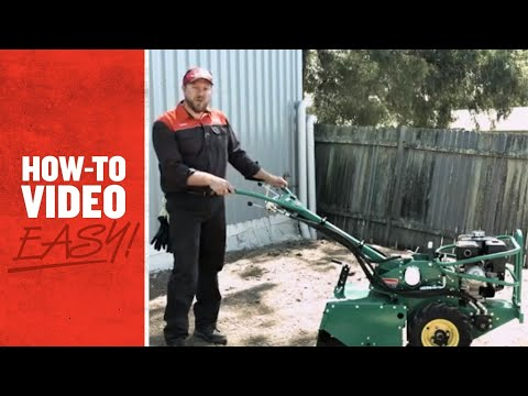 Kennards Hire EasyTV Episode 2 Part 1 - How To Lay Turf:  Soil Preparation