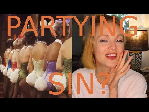 Christian girl at the Playboy Mansion  | God is Grey
