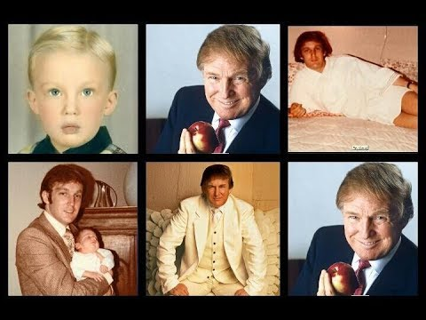 Donald Trump | From 1 to 71 years old
