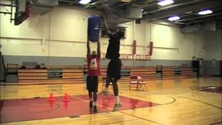 Mcsd Basketball Malik Boothe And Rob Hampton Workout