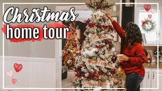 CHRISTMAS DECOR TOUR 2018 | CHRISTMAS DECORATING IDEAS! #FaLaLaFridaysWithPage | Page Danielle