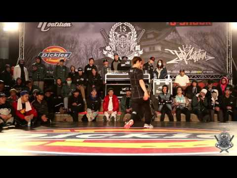 BBOY 1 ON 1 CALL OUT Final Battle ZOOTY vs JAX | 20160219 TC 13th anniversary