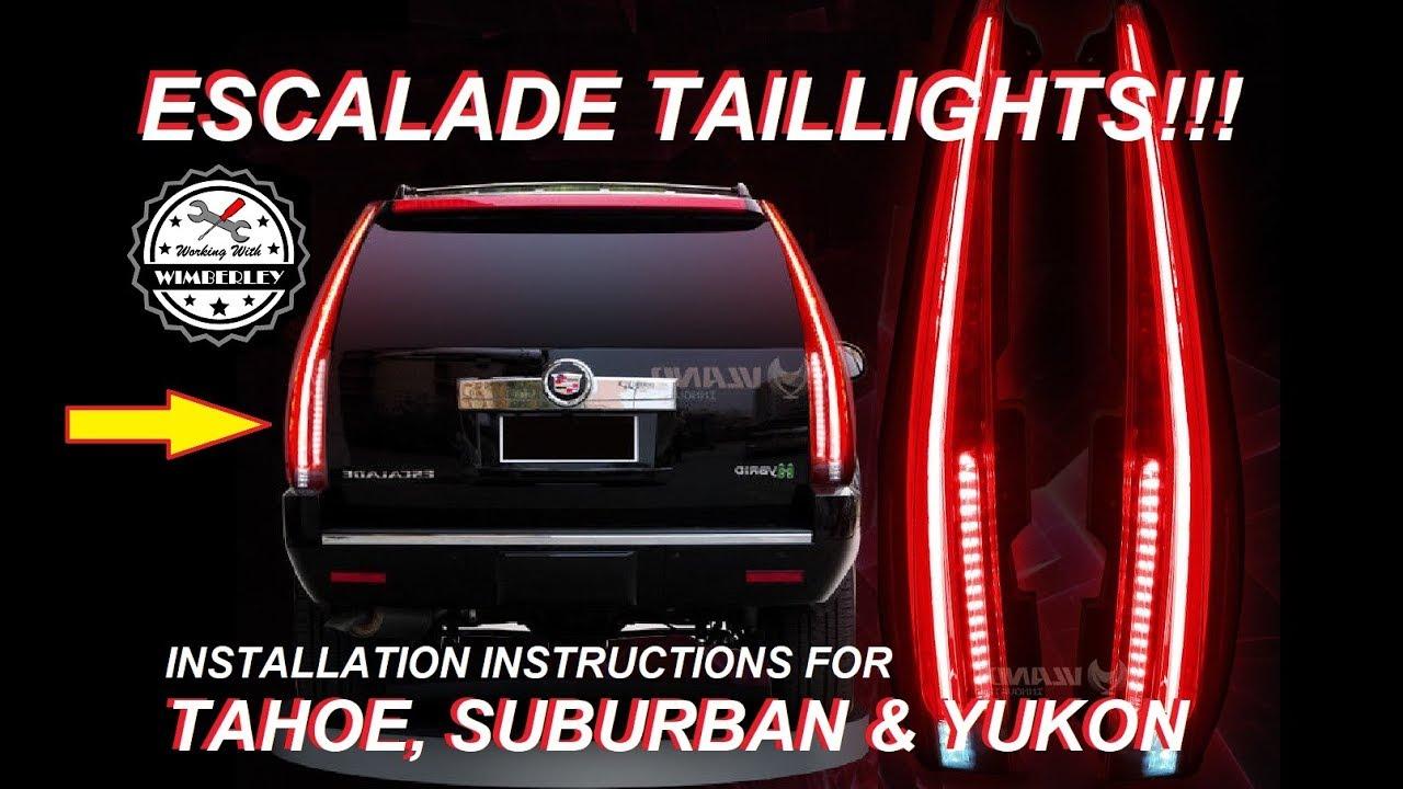 Cadillac Escalade Tail Light Wire Diagram - Wiring Diagram ...