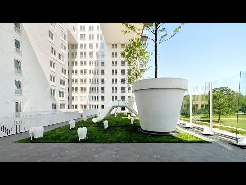 "MVRDV's Jacob van Ries: Parkrand housing is ""like a big mansion"""