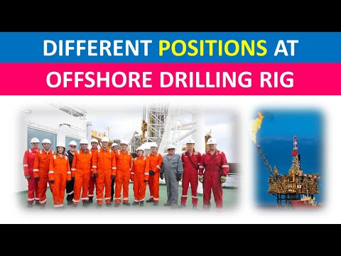 Different Positions at Offshore Drilling Rig | Oil and Gas | Urdu/Hindi