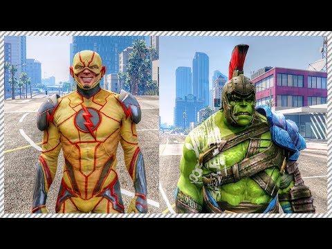 Reverse Flash vs Hulk Ragnarok
