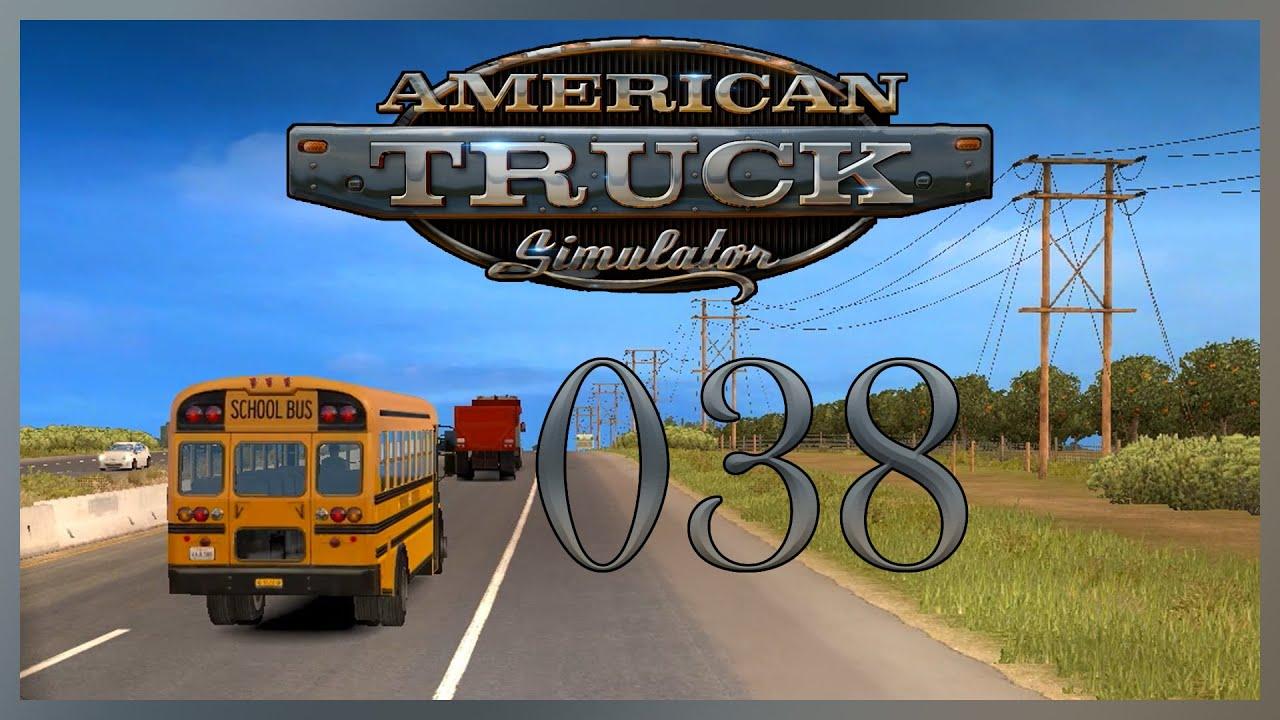 American Truck Simulator = 038 = Back to the (Drive) School