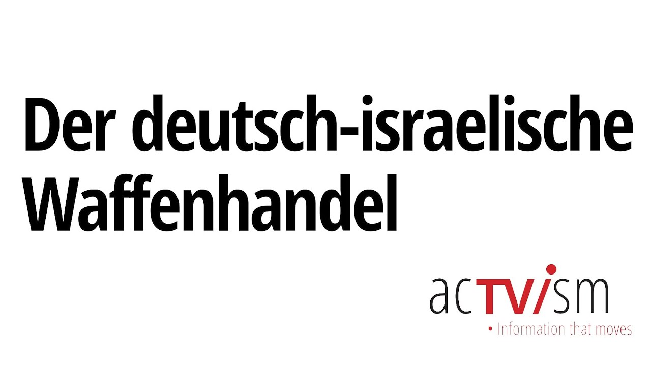 Der deutsch-israelische Waffenhandel