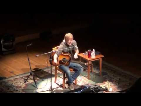 Trey Anastasio - Solo Acoustic Tour - Sanders Theatre, Cambridge, MA 2-10-18