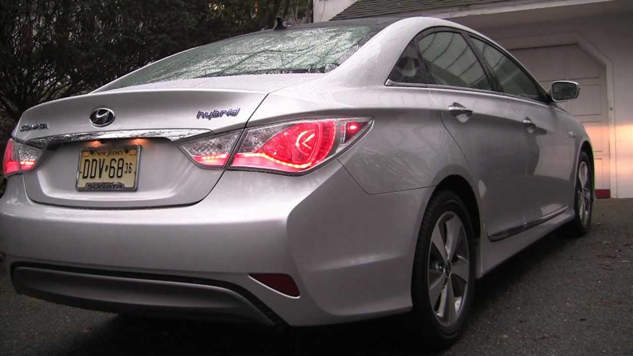 Real World Test Drive 2012 Hyundai Sonata Hybrid