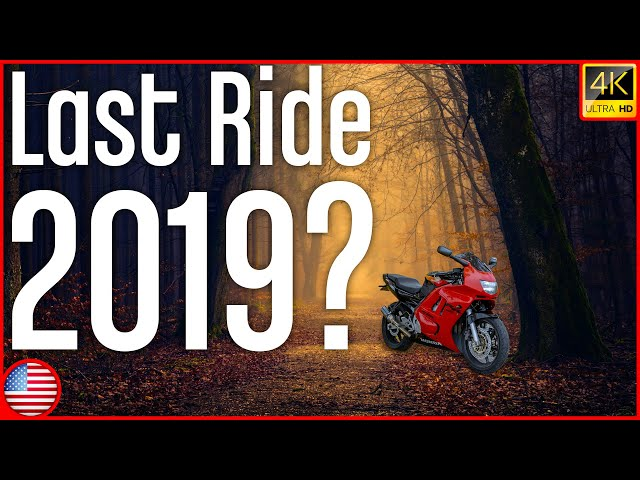 Winter Is Around The Corner - Last Vlog/Ride Of The Year? | English Moto Vlog