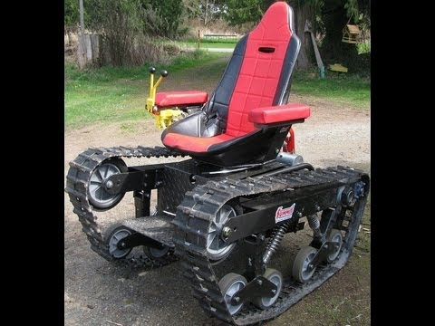 All terrain track chair YouTube