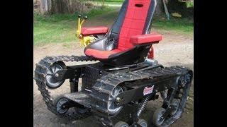 All terrain track chair