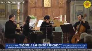 WWW.TERAMOWEB.IT - Caleidoscopio 2014 - Labirinto Armonico - Chiesa S.Antonio Giulianova 23.11.2014