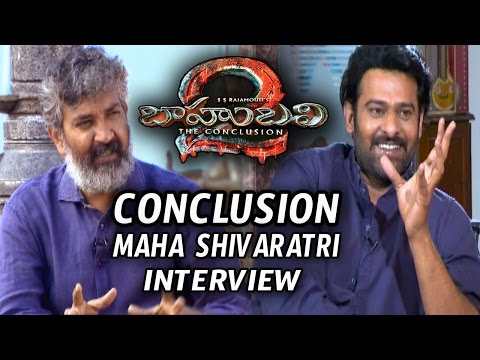 Bahubali 2 Movie Conclusion Maha Shivaratri Interview 2017 || Prabhas,Rajamouli || creative movies