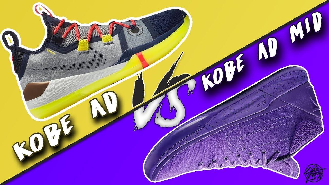25ea587415f Nike Kobe AD Exodus vs Kobe AD Mid! - YouTube