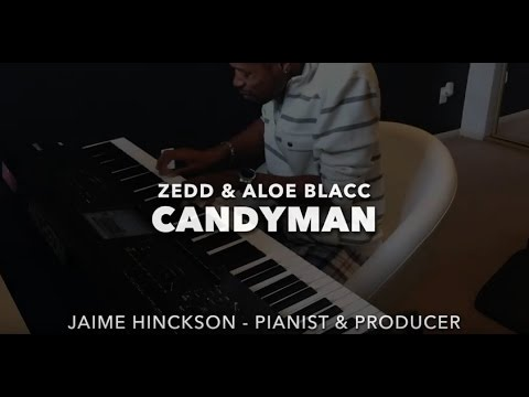 Candyman Zedd Aloe Blacc Jazz Piano Cover Youtube