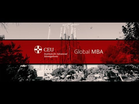 CEU International MBA - Youtube frame