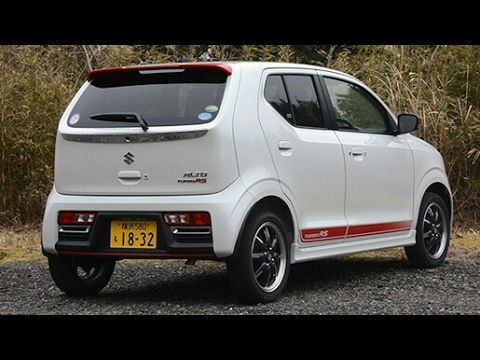 Maruti Suzuki Alto 2017 TurboRS First Look & Walkaround
