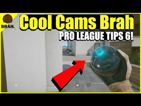 Some Nice Pro League Valkyrie Cameras - Rainbow Six Siege Pro League Tips & Tricks Season 1 Year 2