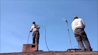 Naprawa remont komina czyszczenie kominów szlamowanie komina  Firma Przybyła