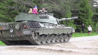 Tank Leopard 1 - Trandum Norway 2017 - Military Tank - German -