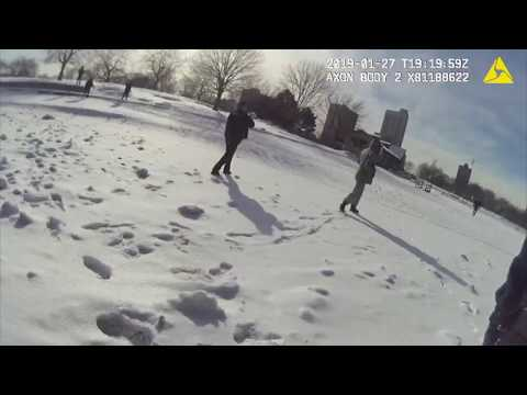 McCabe - MUST WATCH: Chicago Police Saved this Man & Dog from Frozen Lake