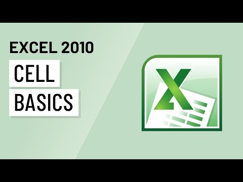 Excel 2010: Cell Basics