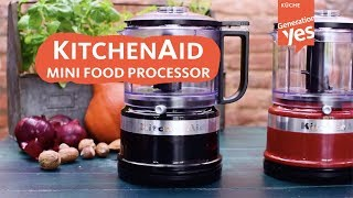 Da ist er endlich: Kitchen Aid Mini Food Processor