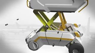 Дипломный проект. Бакалавриат. Тунёв Никита. Роботизированная система погрузки багажа в аэропорту.