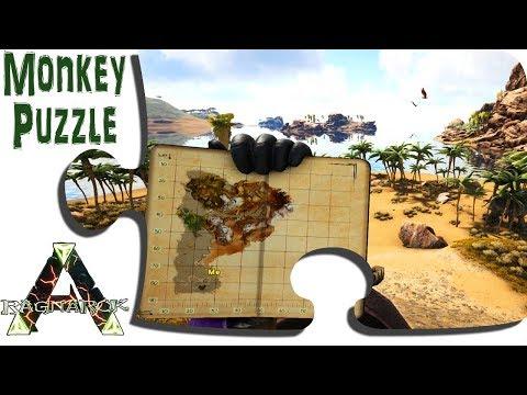 Exploring Ragnarok in Game - Ep 32 - The New Tropical Desert Islands in Update 265 - ARK Map DLC