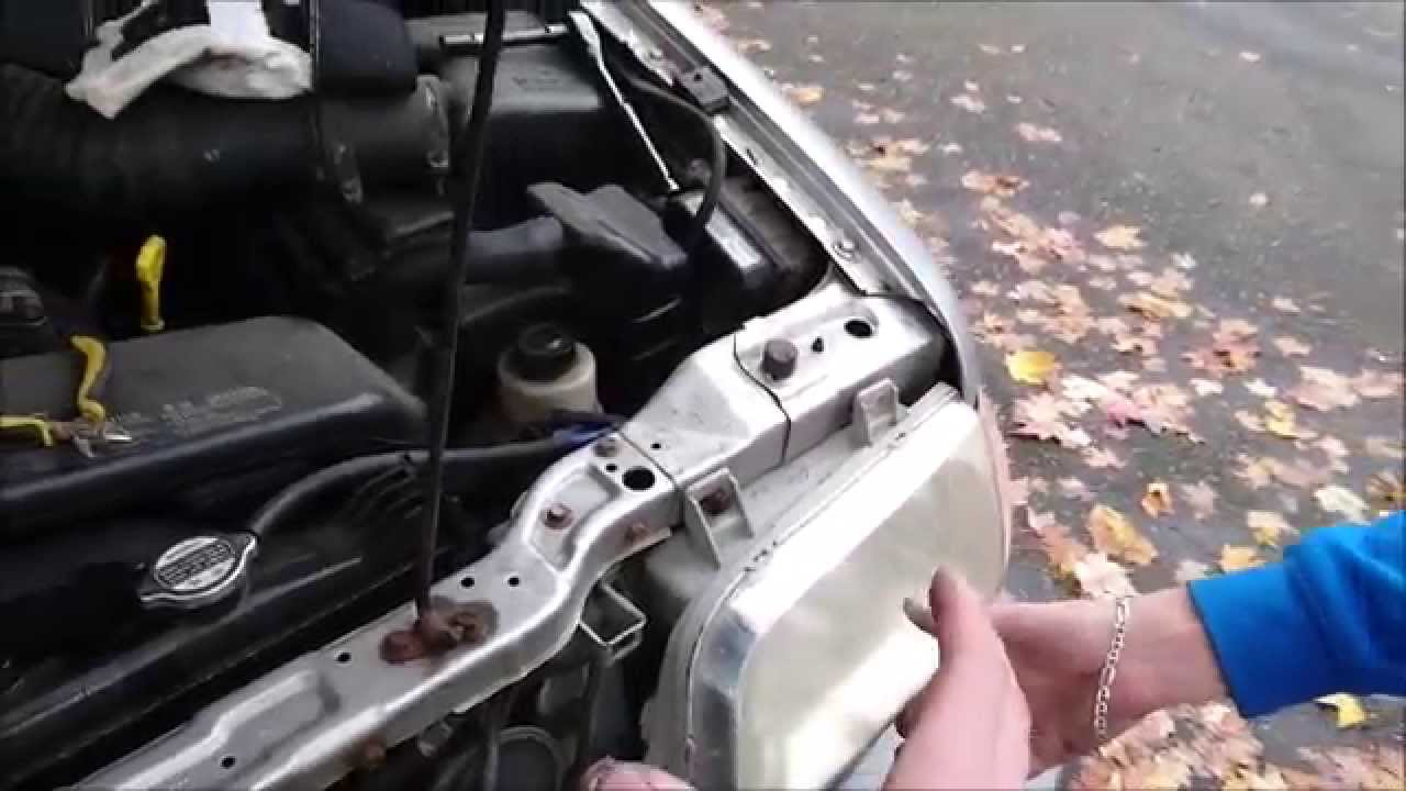 how to change the head light on a 325i