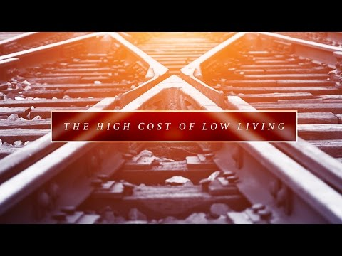 """""""The High Cost of Low Living"""" with Jentezen Franklin"""