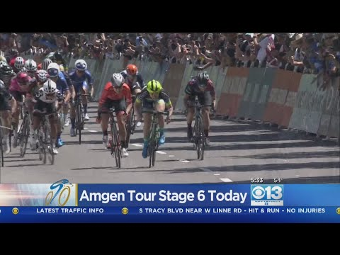 Amgen Tour Of California Rides Into Sacramento Region