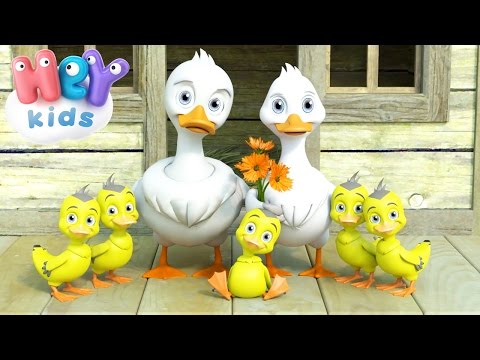Cinco Patitos - Canciones Infantiles - 5 Patitos