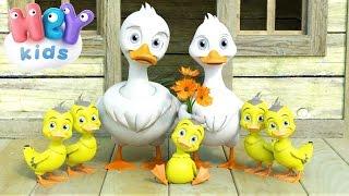 Cinco Patitos - Canciones Infantiles - 5 Patitos