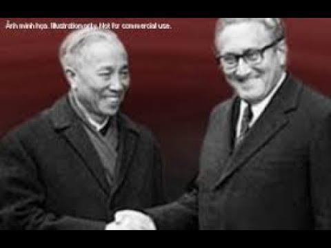 Cuộc đấu trí căng thẳng giữa Lê Đức Thọ và Kissinger từng khiến thế giới ngã mũ