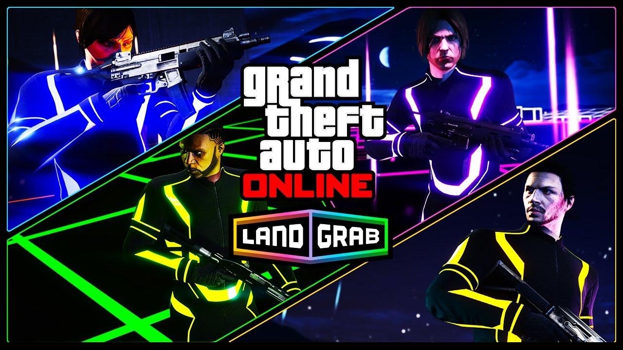 Incercam Land Grab | Gta 5 Online