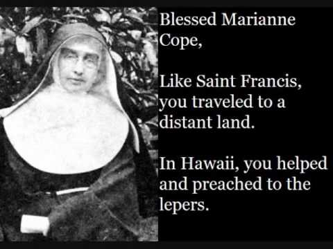 Blessed Marianne Cope (January 23)
