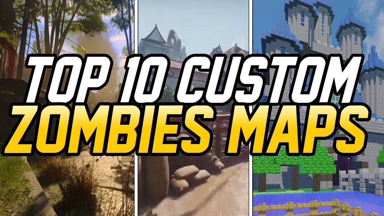 TOP 10 CUSTOM ZOMBIES MAPS IN BLACK OPS 3 MOD TOOLS! (Black Ops 3 Zombies)