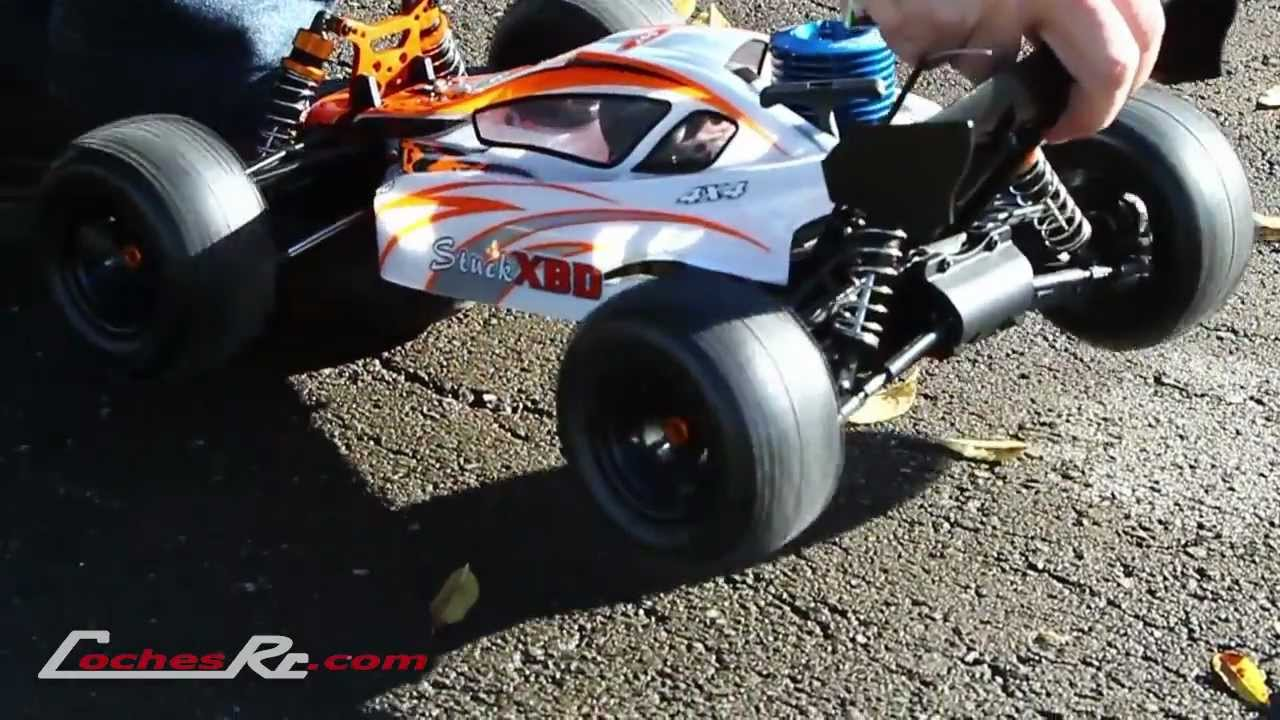 Coche Radiocontrol Gasolina Truggy 1 9 Stuck Dbx Con Motor De 3 3 Cc