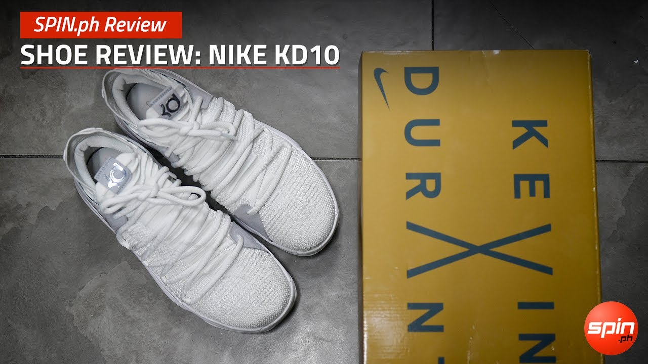 the best attitude 76821 370bf SPIN.ph Review: Shoe Review, Nike KD10