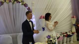 Мама читает рэп на свадьбе,поздравление )))